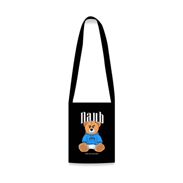 Teddy Black Tote Bag